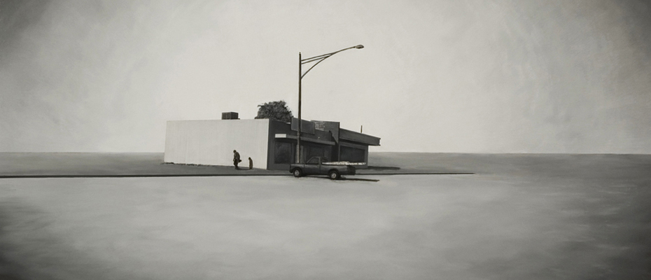 """Coin Laundry"" 2009: 48×60 inches"